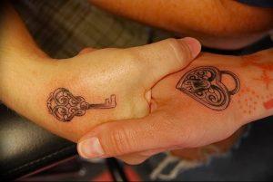 фото тату Ключ 03.05.2019 №213 - tattoo key - tattoo-photo.ru