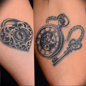 фото тату Ключ 03.05.2019 №239 - tattoo key - tattoo-photo.ru