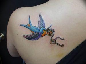 фото тату Ключ 03.05.2019 №322 - tattoo key - tattoo-photo.ru
