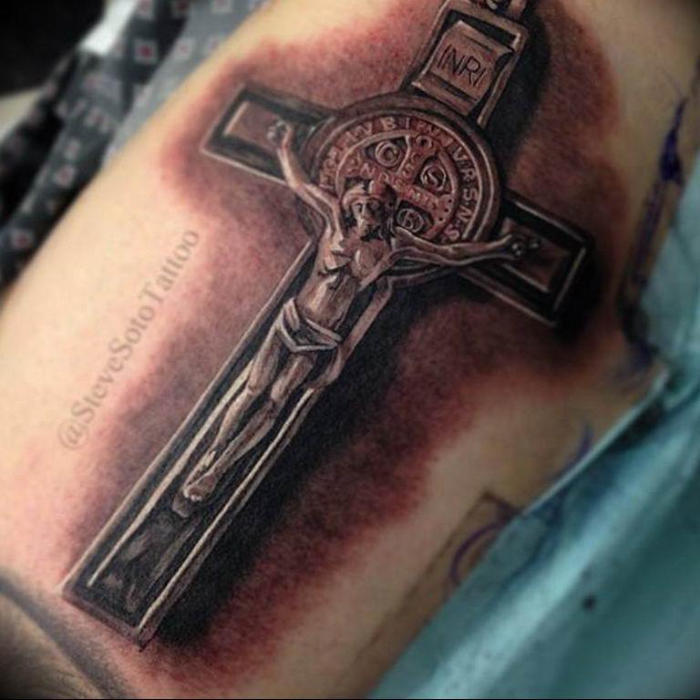 смайлы тату с изображением креста фото получения фигурных