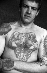 фото тату Распятие 01.05.2019 №032 - crucifix tattoo - tattoo-photo.ru