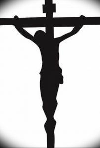 фото тату Распятие 01.05.2019 №108 - crucifix tattoo - tattoo-photo.ru