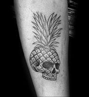 фото тату ананас 24.04.2019 №011 — tattoo pineapple — tattoo-photo.ru