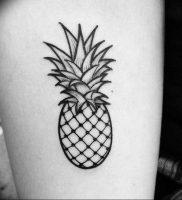 фото тату ананас 24.04.2019 №015 — tattoo pineapple — tattoo-photo.ru