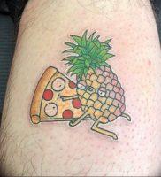 фото тату ананас 24.04.2019 №021 — tattoo pineapple — tattoo-photo.ru