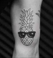 фото тату ананас 24.04.2019 №027 — tattoo pineapple — tattoo-photo.ru