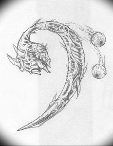 фото тату басовый ключ 01.05.2019 №058 - tattoo bass clef - tattoo-photo.ru