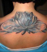 фото тату кувшинка 30.04.2019 №094 — tattoo waterlily — tattoo-photo.ru