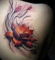фото тату кувшинка 30.04.2019 №097 — tattoo waterlily — tattoo-photo.ru