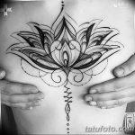 фото тату кувшинка 30.04.2019 №106 - tattoo waterlily - tattoo-photo.ru