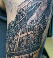 фото тату лестница 15.04.2019 №040 — tattoo ladder — tattoo-photo.ru