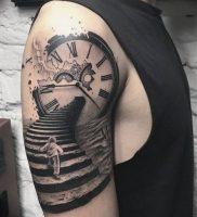 фото тату лестница 15.04.2019 №046 — tattoo ladder — tattoo-photo.ru