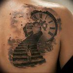 фото тату лестница 15.04.2019 №068 - tattoo ladder - tattoo-photo.ru
