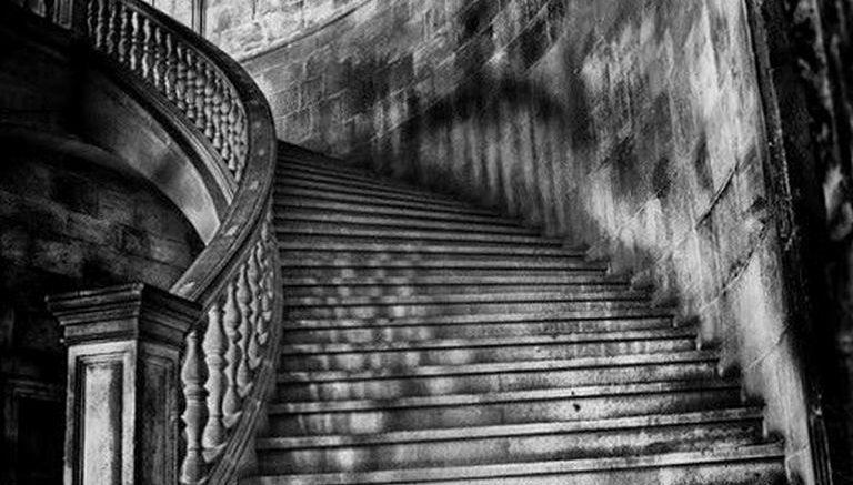 фото тату лестница 15.04.2019 №088 - tattoo ladder - tattoo-photo.ru
