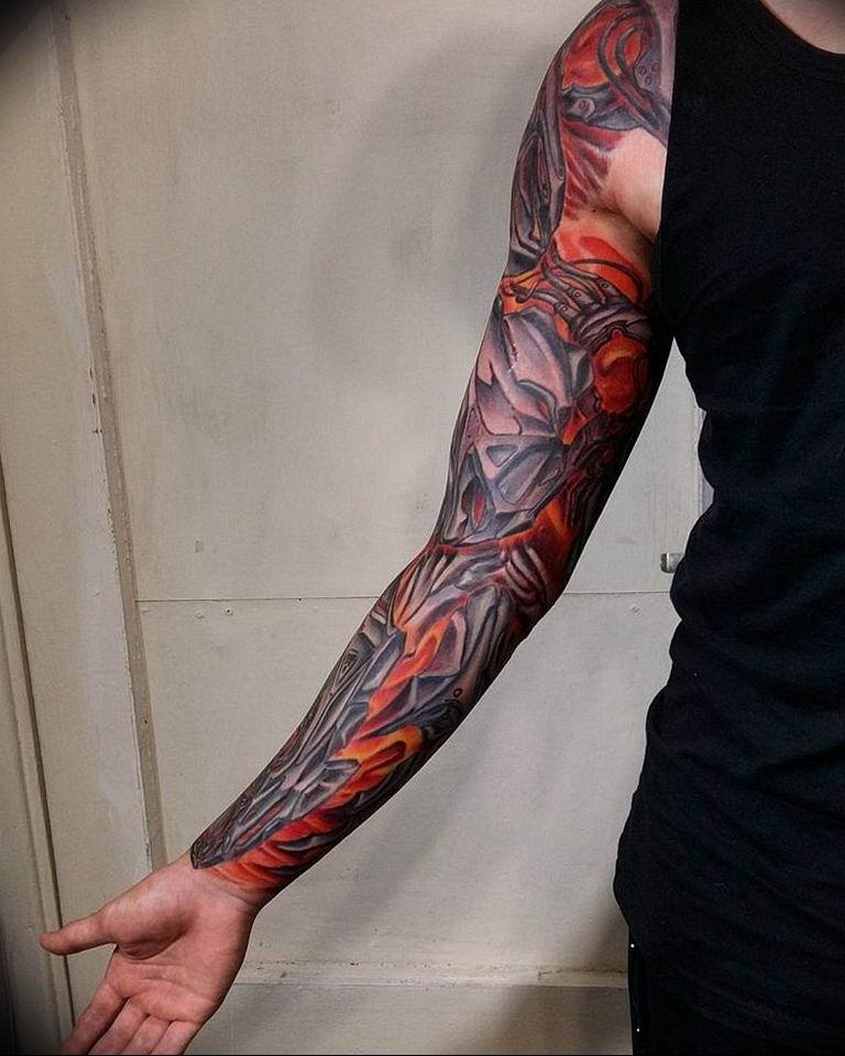 человека идентифицирует рукава тату смотреть фото некоторые элементы огненного