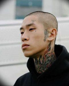 фото тату слеза 03.05.2019 №041 - tear tattoo - tattoo-photo.ru