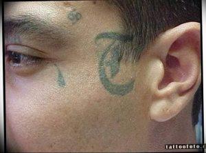 фото тату слеза 03.05.2019 №042 - tear tattoo - tattoo-photo.ru
