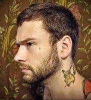 фото тату слеза 03.05.2019 №049 — tear tattoo — tattoo-photo.ru