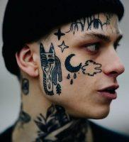 фото тату слеза 03.05.2019 №053 — tear tattoo — tattoo-photo.ru