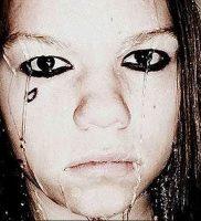 фото тату слеза 03.05.2019 №057 — tear tattoo — tattoo-photo.ru