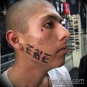 фото тату слеза 03.05.2019 №058 - tear tattoo - tattoo-photo.ru