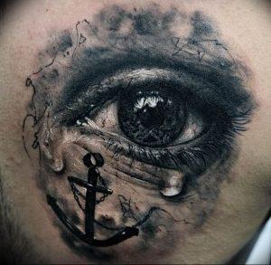 фото тату слеза 03.05.2019 №061 - tear tattoo - tattoo-photo.ru
