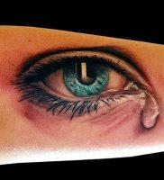 фото тату слеза 03.05.2019 №072 — tear tattoo — tattoo-photo.ru
