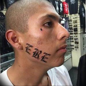 фото тату слеза 03.05.2019 №085 - tear tattoo - tattoo-photo.ru