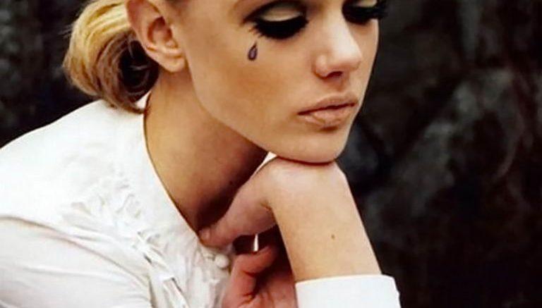 фото тату слеза 03.05.2019 №103 - tear tattoo - tattoo-photo.ru