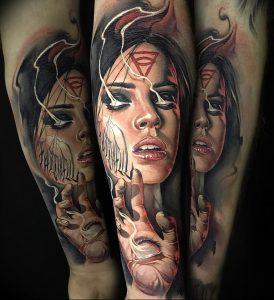 Фото интересный тату рисунок 2019 24.05.2019 №180 - interesting tattoo - tattoo-photo.ru