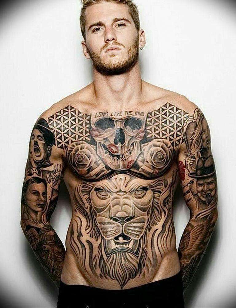 Самые крутые картинки татуировок, днем