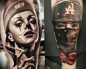 Фото интересный тату рисунок 2019 24.05.2019 №196 - interesting tattoo - tattoo-photo.ru