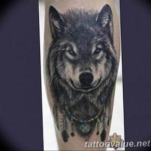 Фото тату волк 20.05.2019 №062 - photo tattoo wolf - tattoo-photo.ru