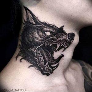 Фото тату волк 20.05.2019 №070 - photo tattoo wolf - tattoo-photo.ru