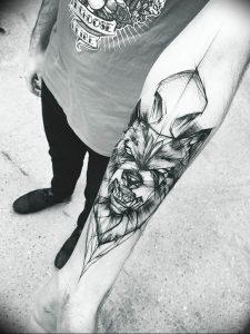 Фото тату волк 20.05.2019 №071 - photo tattoo wolf - tattoo-photo.ru