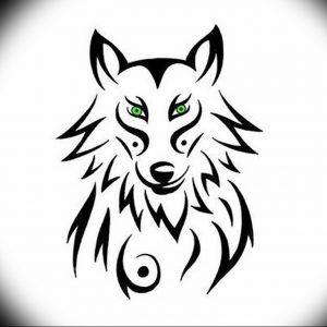 Фото тату волк 20.05.2019 №117 - photo tattoo wolf - tattoo-photo.ru