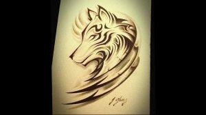 Фото тату волк 20.05.2019 №123 - photo tattoo wolf - tattoo-photo.ru