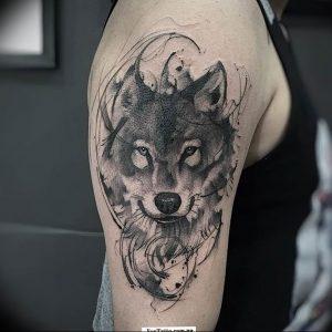 Фото тату волк 20.05.2019 №132 - photo tattoo wolf - tattoo-photo.ru