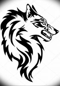Фото тату волк 20.05.2019 №169 - photo tattoo wolf - tattoo-photo.ru