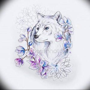 Фото тату волк 20.05.2019 №203 - photo tattoo wolf - tattoo-photo.ru