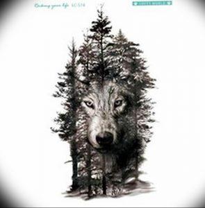 Фото тату волк 20.05.2019 №220 - photo tattoo wolf - tattoo-photo.ru