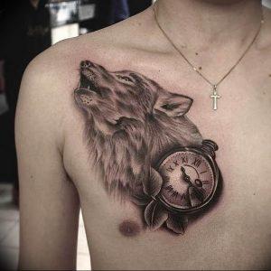 Фото тату волк 20.05.2019 №237 - photo tattoo wolf - tattoo-photo.ru
