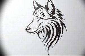 Фото тату волк 20.05.2019 №243 - photo tattoo wolf - tattoo-photo.ru