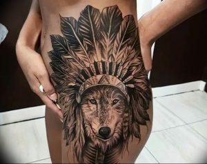 Фото тату волк 20.05.2019 №246 - photo tattoo wolf - tattoo-photo.ru