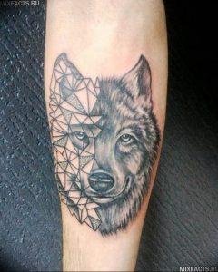 Фото тату волк 20.05.2019 №256 - photo tattoo wolf - tattoo-photo.ru