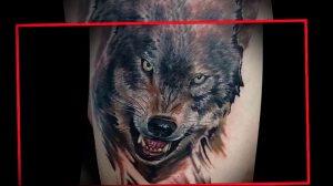 Фото тату волк 20.05.2019 №260 - photo tattoo wolf - tattoo-photo.ru