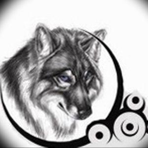 Фото тату волк 20.05.2019 №271 - photo tattoo wolf - tattoo-photo.ru