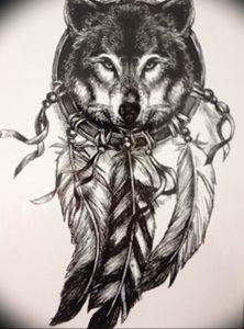 Фото тату волк 20.05.2019 №280 - photo tattoo wolf - tattoo-photo.ru