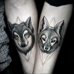 Фото тату волк 20.05.2019 №283 - photo tattoo wolf - tattoo-photo.ru