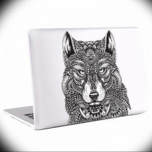 Фото тату волк 20.05.2019 №304 - photo tattoo wolf - tattoo-photo.ru